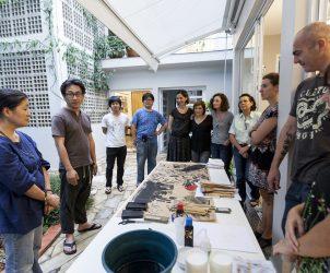 Workshop de Sandra Cinto (Foto: Ding Musa)