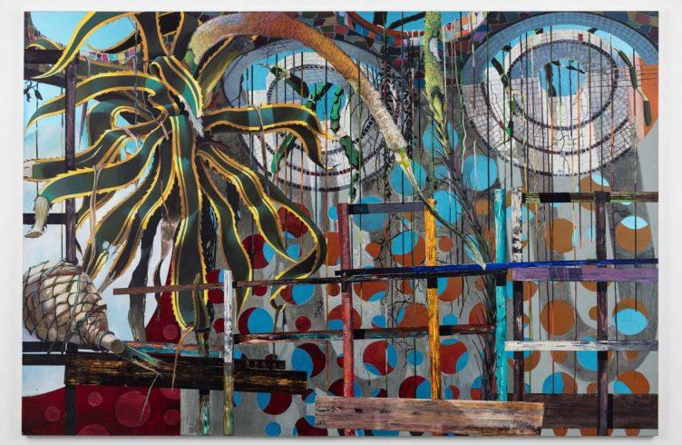Monster (2016), de Luiz Zerbini, na Stephen Friedman Gallery (Fotos: Cortesia do artista/ Stephen Friedman Gallery)