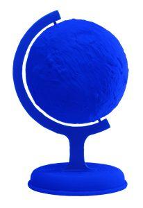 Globe Terrestre Bleu (1988), de Yves Klein (Foto: Divulgação)
