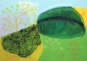 Pintura de Neves Torres (Foto: Rodrigo Casagrande)