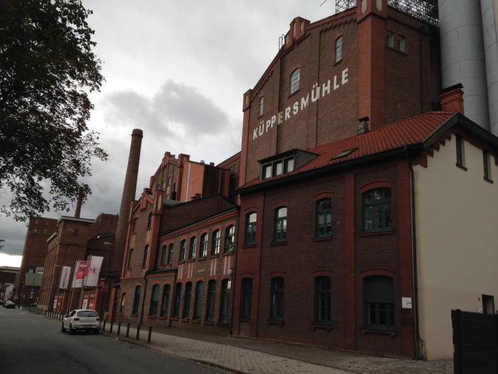 Museu Küppersmühle, em Duisburg, visitado por Ricardo Ohtake e Nelson Brissac em 2015 (Foto: Divulgação)