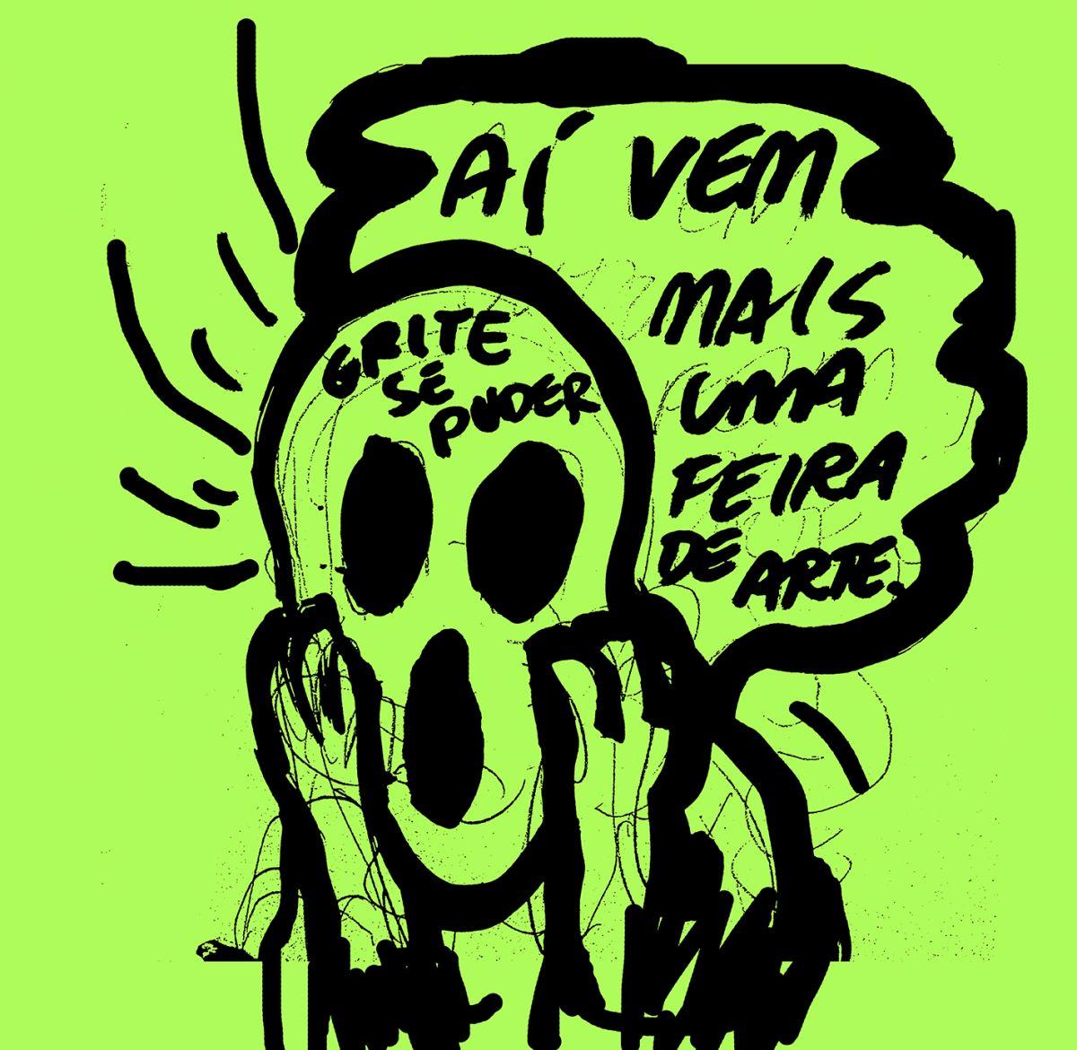 Desenho de Alvaro Seixas (Foto: Cortesia do artista)