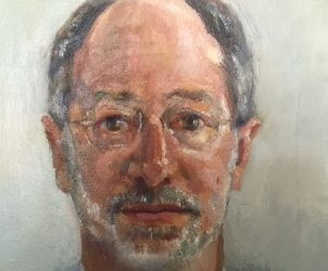 Retrato de Paulo Portella, por Ernesto Bonato