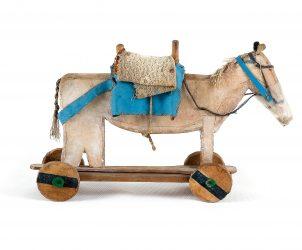 Cavalinho, de Arthur Bispo do Rosário (Foto: Museu Bispo do Rosário)
