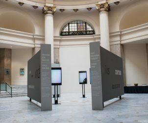 Espaço sensorial da exposição Entre Nós - A Figura Humana no Acervo do Masp (Foto: DIvulgação, CCBB RJ)
