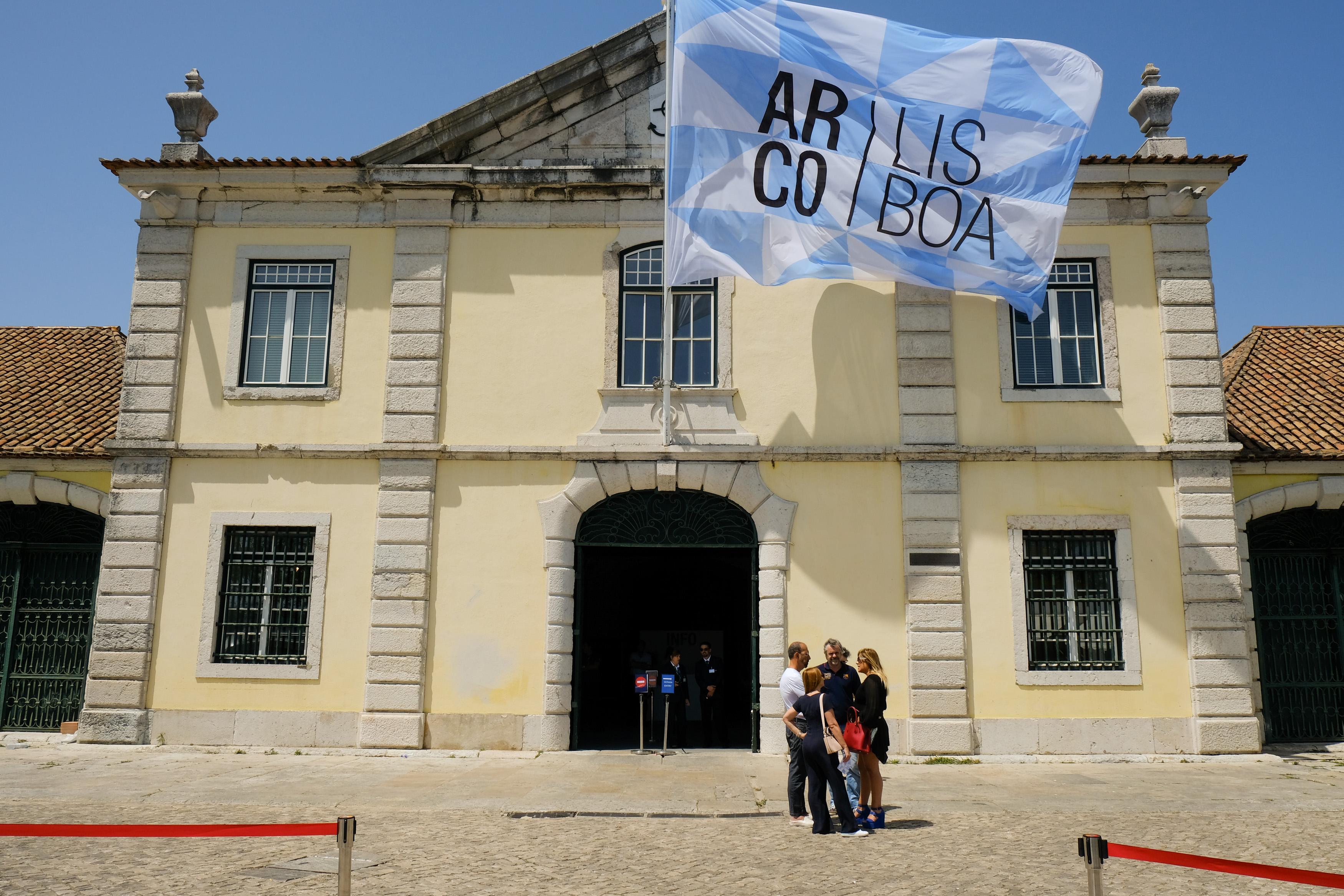 Entrada da ARCOlisboa 2017, no edifício da Cordoaria Nacional (Foto: Divulgação ARCOlisboa)