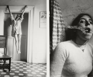 Trabalhos de Francesca Woodman, artista participante da segunda edição de Frestas - Trienal de Artes (Fotos: Reprodução)