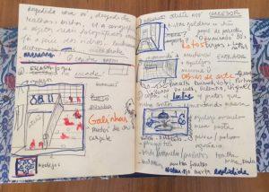 Caderno de Ana Elisa Egreja (Foto: Cortesia da artista)