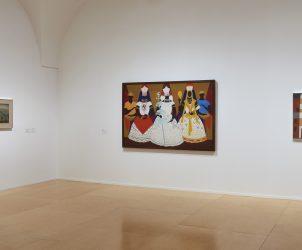 Vista de uma sala da exposição Da Natureza Afetiva da Forma (Foto: Joaquín Cortés/ Román Lores. Arquivo Fotográfico do Museu Nacional Reina Sofía)