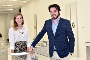 Antonia Bergamin e Thiago Gomide; galeria cresceu 50% (Foto: Iara Morselli/ Galeria Bergamin & Gomide)
